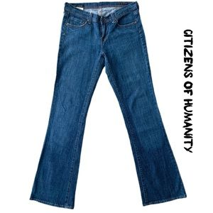 Citizens Of Humanity Simone Low Rise Flair Jeans